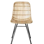 Eames style Rattan Chair