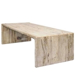 Chinese Elm Waterfall Table