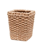 Seagrass Square Wastebasket