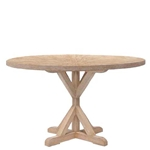 Cerused Oak Table