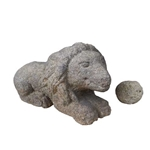 Stone Lion and Sphere