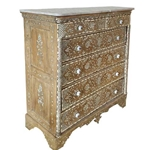 Moroccan Inlay Chest of Drawers