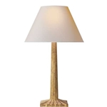 Gilt Fluted Lamp