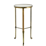 Brass Cigarette Table