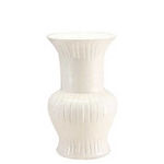 Thai White Tulip Vase