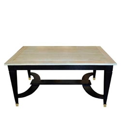 French Neoclassical Oak Table