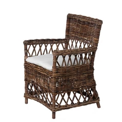 Wicker Plantation Chair  sc 1 st  William Laman & William Laman Furniture.Garden.Antiques - Wicker Plantation Chair