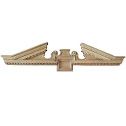 Pair Architectural Pediments