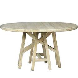 Bon Round Trestle Table