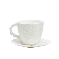 Sea Urchin Porcelain Teacup Set